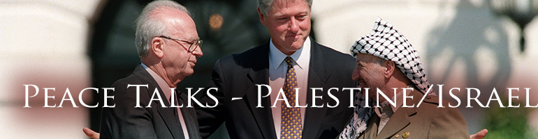 Time for Peace Talks - Palestine/Israel