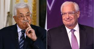 Abbas calls Freidman 'Son of a Dog'